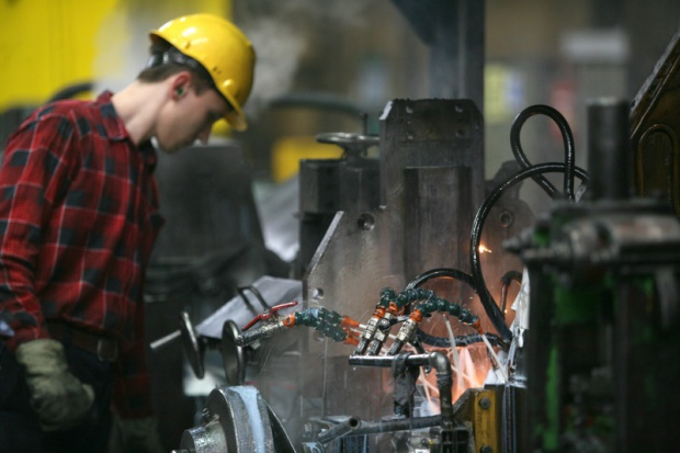 Huta Pokój: dobry kwartał mimo kryzysu na rynku stali