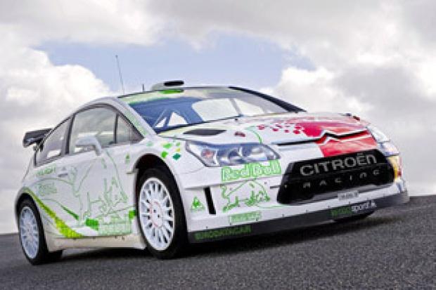 Citroen C4 WRC HYbrid4 testowany na odcinkach specjalnych
