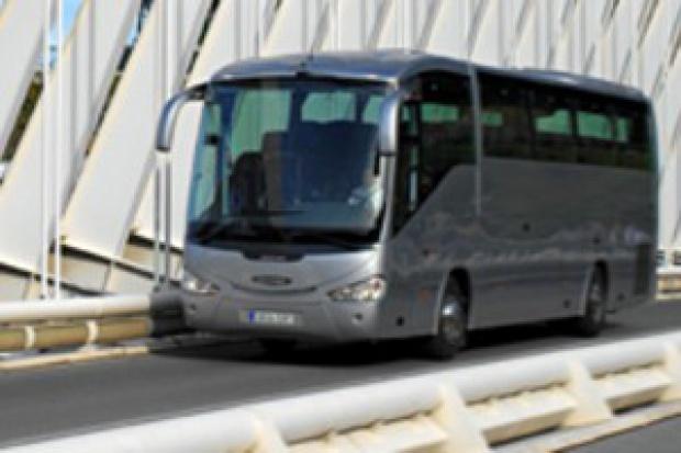 Scania wypożycza autobusy