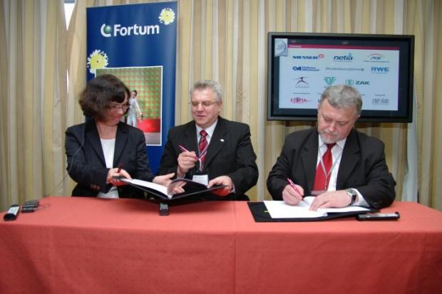 Podpisanie umowy między Elektrownią Bełchatów i Fortum ws. CCS