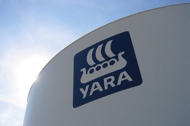 Spadek zysków Yara International