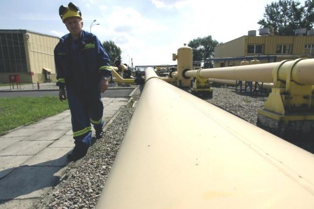 Znowu mniej gazu z Ukrainy