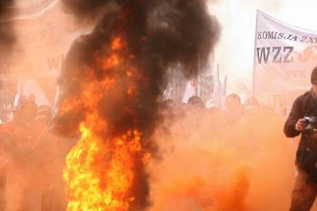 Tydzień górniczych protestów