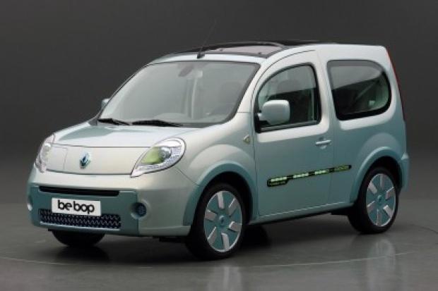 Renault i jego be bop Z.E. - elektryczna pokazówka