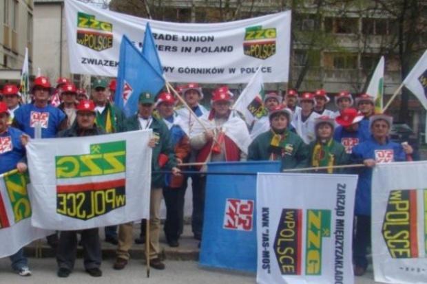 Związek Zawodowy Górników w Polsce będzie demonstrować w Pradze