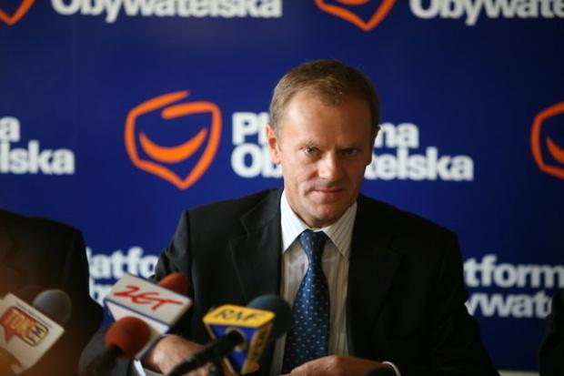 Premier Donald Tusk do stoczniowców: nie zostawię was bez pomocy