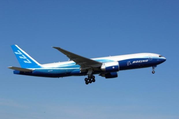Boeing dostarczył pierwszego B777 Freighter dla Deucalion Capital