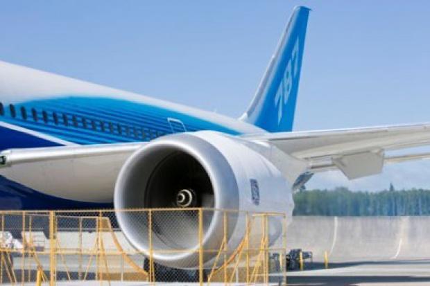 Boeing zakończył testy silnika B787 Dreamliner