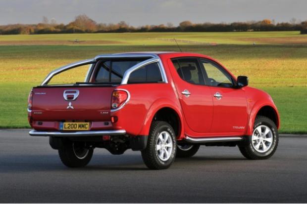 Mitsubishi świętuje sukces L200