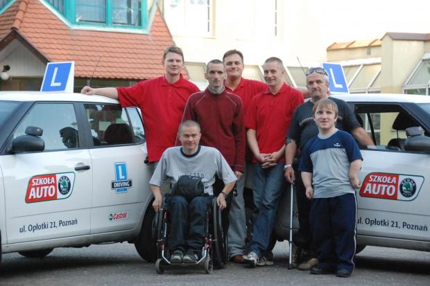 Skoda szkoli niepełnosprawnych kierowców