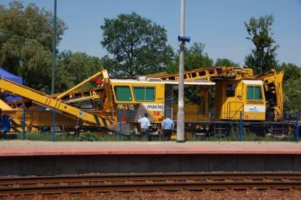 Nowe maszyny na inwestycjach PKP Polskie Linie Kolejowe