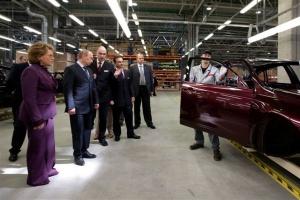 Nissan uruchomił fabrykę w Sankt Petersburgu