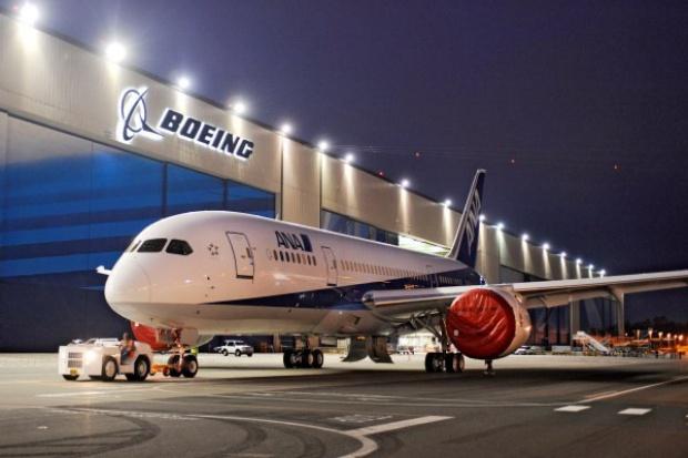 Boeing potwierdza datę lotu testowego 787 Dreamliner