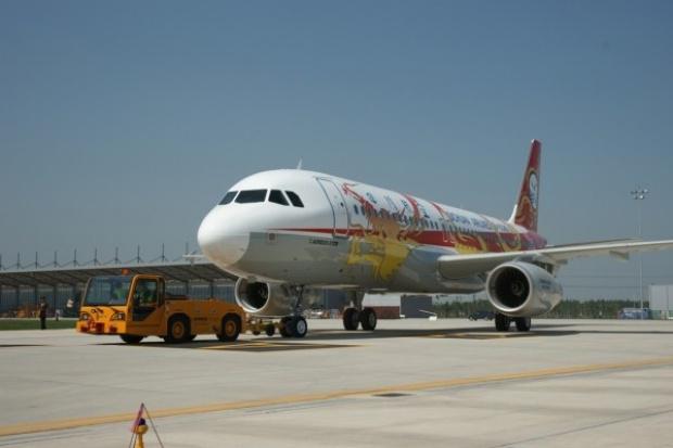 Airbus zrealizował dostawę pierwszego A320 zmontowanego w Chinach