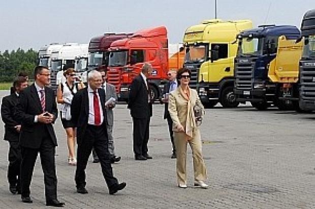 Unijny komisarz w Scania Polska