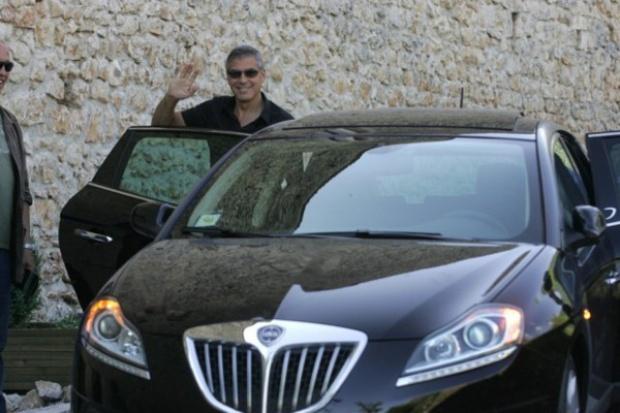 Romans Lancii z Georgem Clooney'em