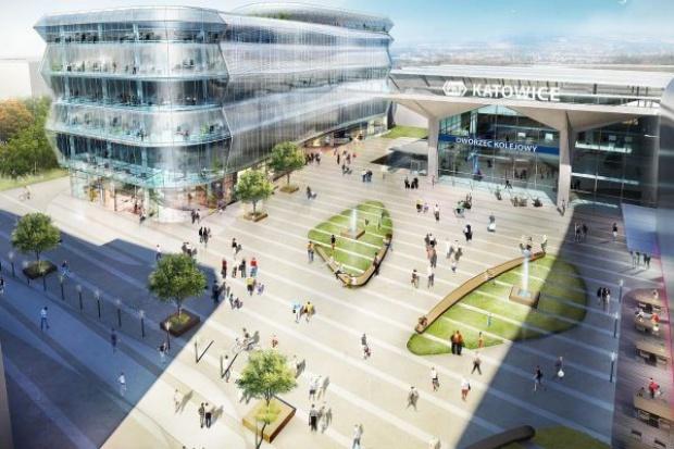 W Katowicach za 240 mln euro powstanie nowy dworzec kolejowy