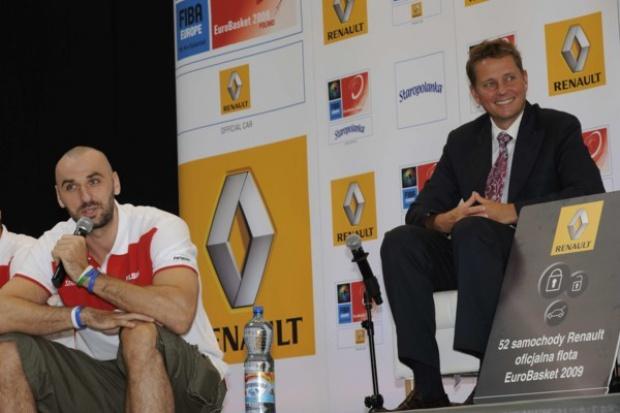 Renault oficjalnym samochodem koszykarskich Mistrzostw Europy