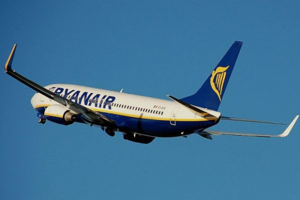 Ryanair poleci z Gdańska do Edynburga
