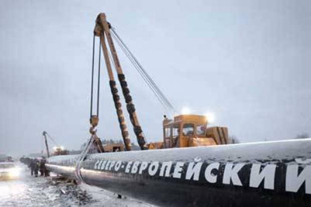 Nord Stream zadłuża się na gazociąg