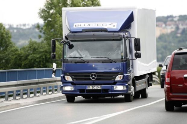 Transportowcy przekonują się do Atego ze Start-Stop
