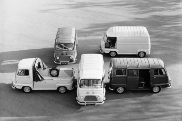 Od Estafette do Renault Trafic