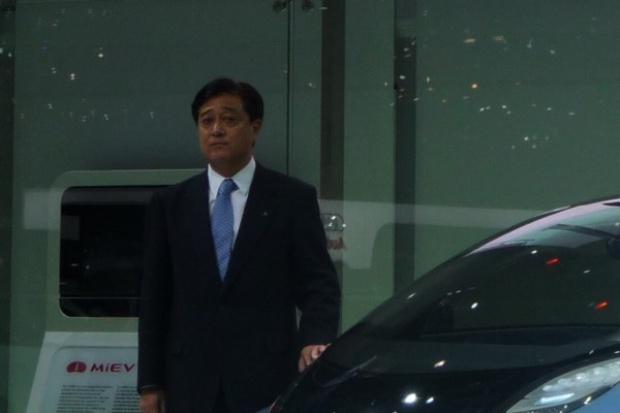 Szef Mitsubishi w drodze do Polski