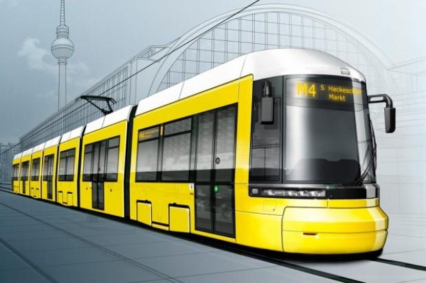 99 tramwajów Bombardiera dla Berlina