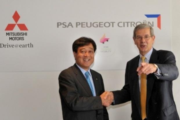 Umowa Mitsubishi z PSA ws. auta elektrycznego