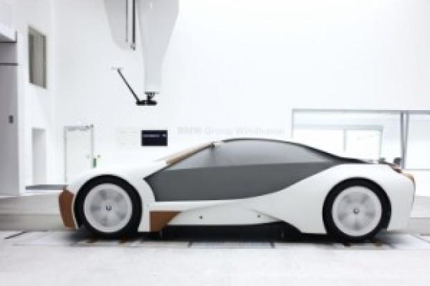 BMW Vision - EfficientDynamics - futurystyczna hybryda z Bawarii