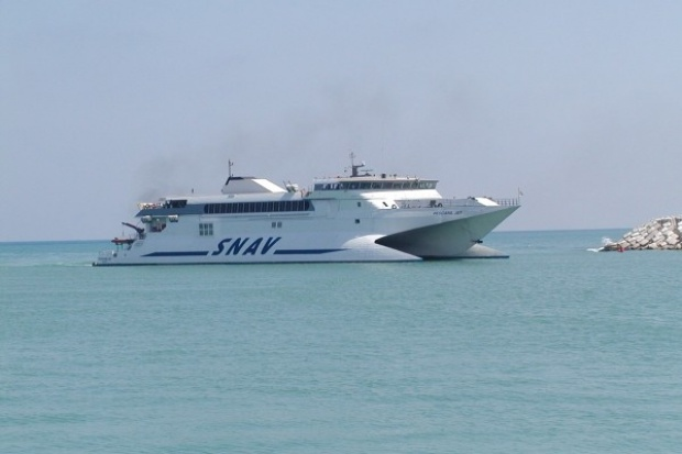 CP Energia dostarcza LNG do promów morskich