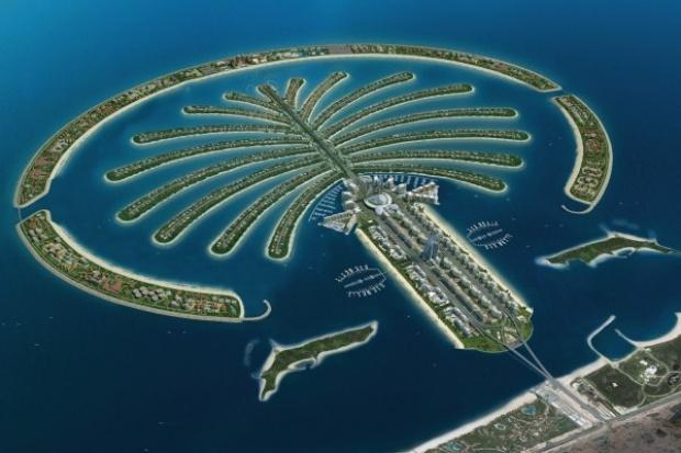 Finał budowy sztucznych wysp w Dubaju