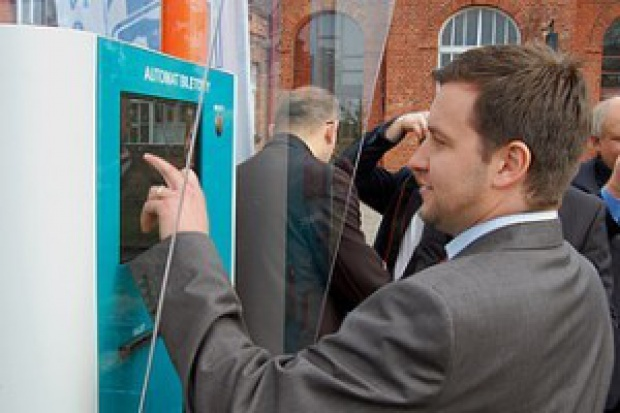 Arriva uruchamia sprzedaż biletów z automatów
