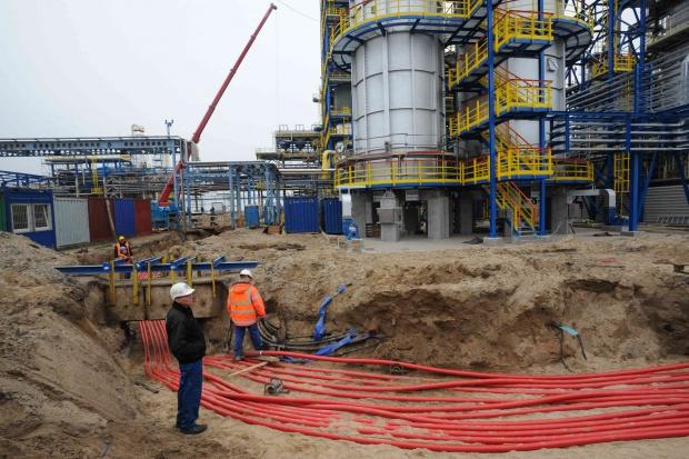 Wytwórnia wodoru w Lotosie już gotowa