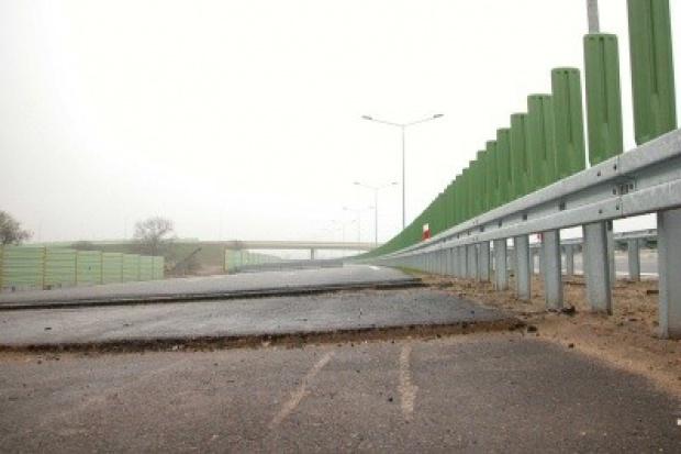 Węzeł drogowy na S1 od stycznia czeka na otwarcie