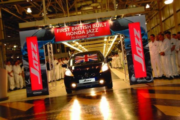 Brytyjska Honda produkuje model Jazz