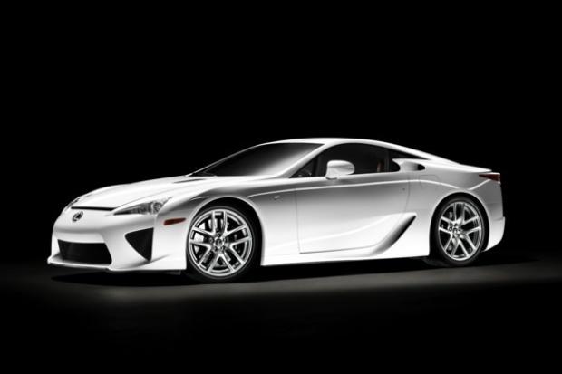 Lexus LFA - będzie ich tylko 500 szt.