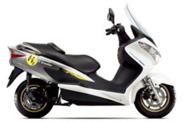Skuter na ogniwa paliwowe od Suzuki