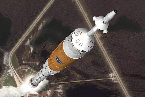 Próbny start nowej rakiety nośnej Ares