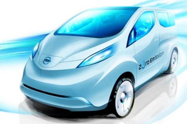 Nissan pokazał szkic elektrycznej furgonetki