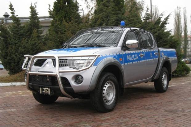 Policja będzie jeździć Mitsubishi