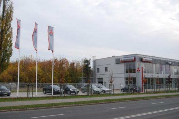 Mitsubishi w nowym miejscu w Poznaniu