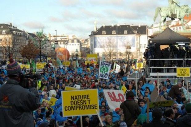 968 osób zatrzymanych po demonstracji w Kopenhadze