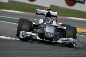Michael Schumacher pojedzie Mercedesem GP?
