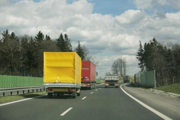 Rekordowo przeładowane ciężarówki