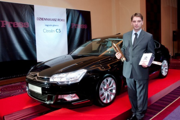 Dziennikarz Roku zdobywcą Citroena C5
