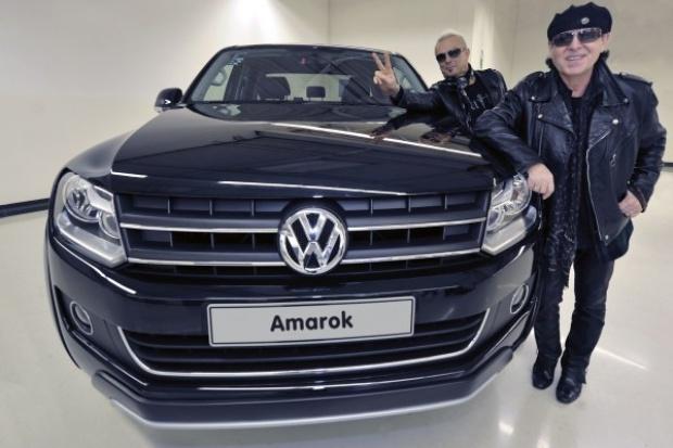 """""""The Scorpions"""" przetestują VW Amaroka"""