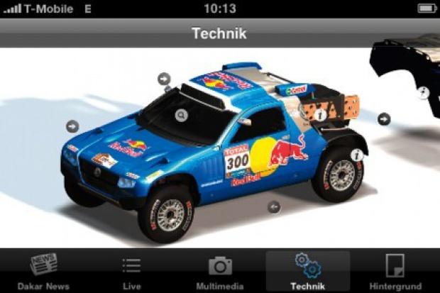 Volkswagen przenosi Rajd Dakar na iPhone