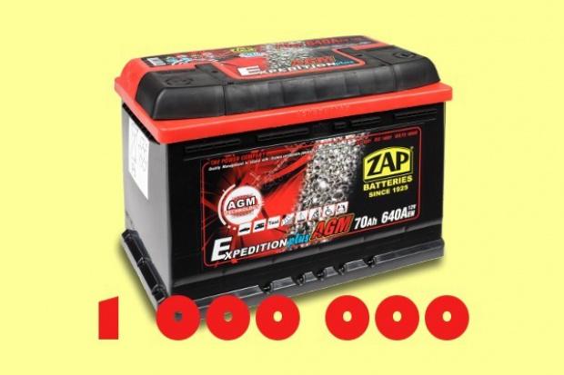 Milionowy akumulator ZAP Piastów