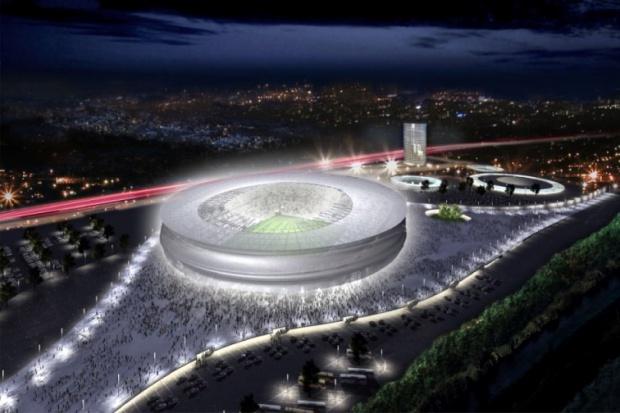 Zastój na budowie stadionu we Wrocławiu nie może trwać zbyt długo